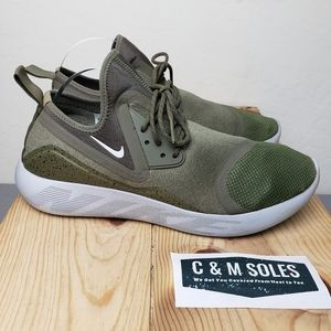 Nike Lunarcharge Essential Olive Running